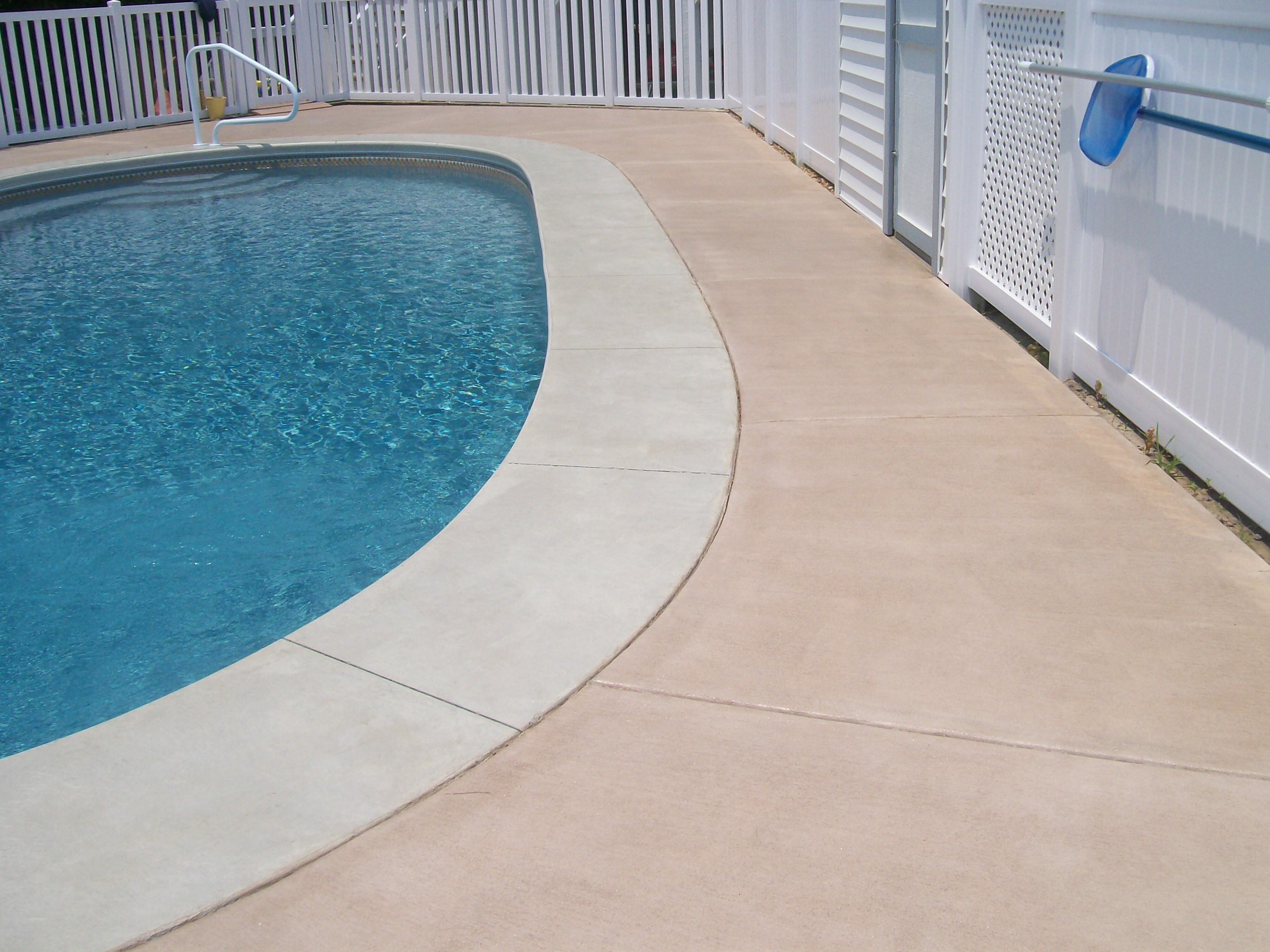Border Around Pool Heller Concrete Inc. Serving The Outer Banks Of North Carolina