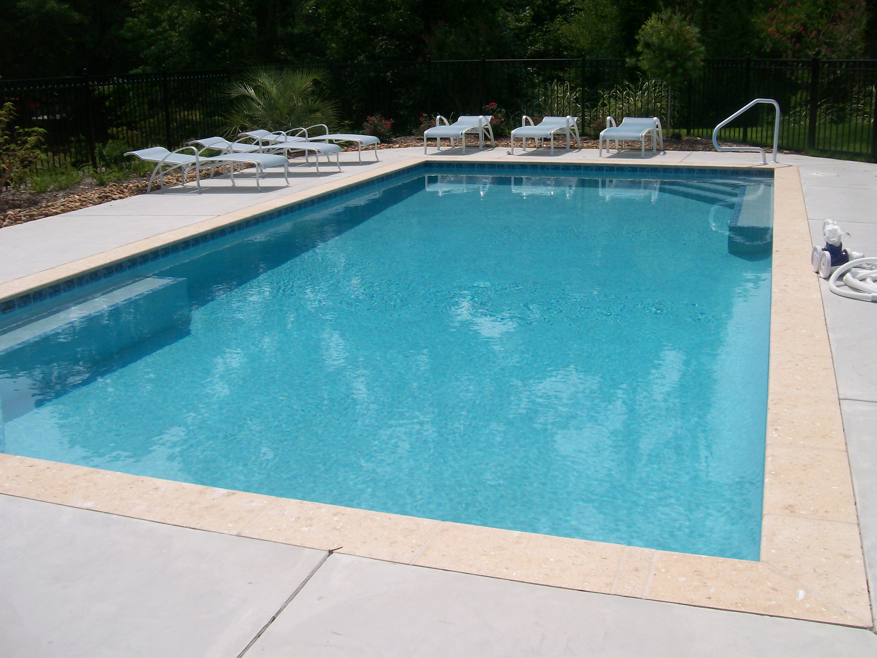 Heller concrete inc serving the outer banks of north for Concrete swimming pool